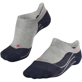 Falke W's RU4 Invisible Running Socks light grey